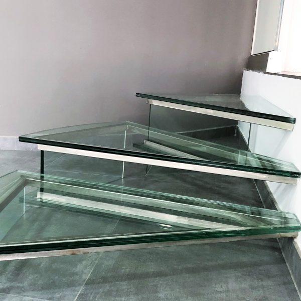 Scale e Balaustre in vetro Crotone - Calabria