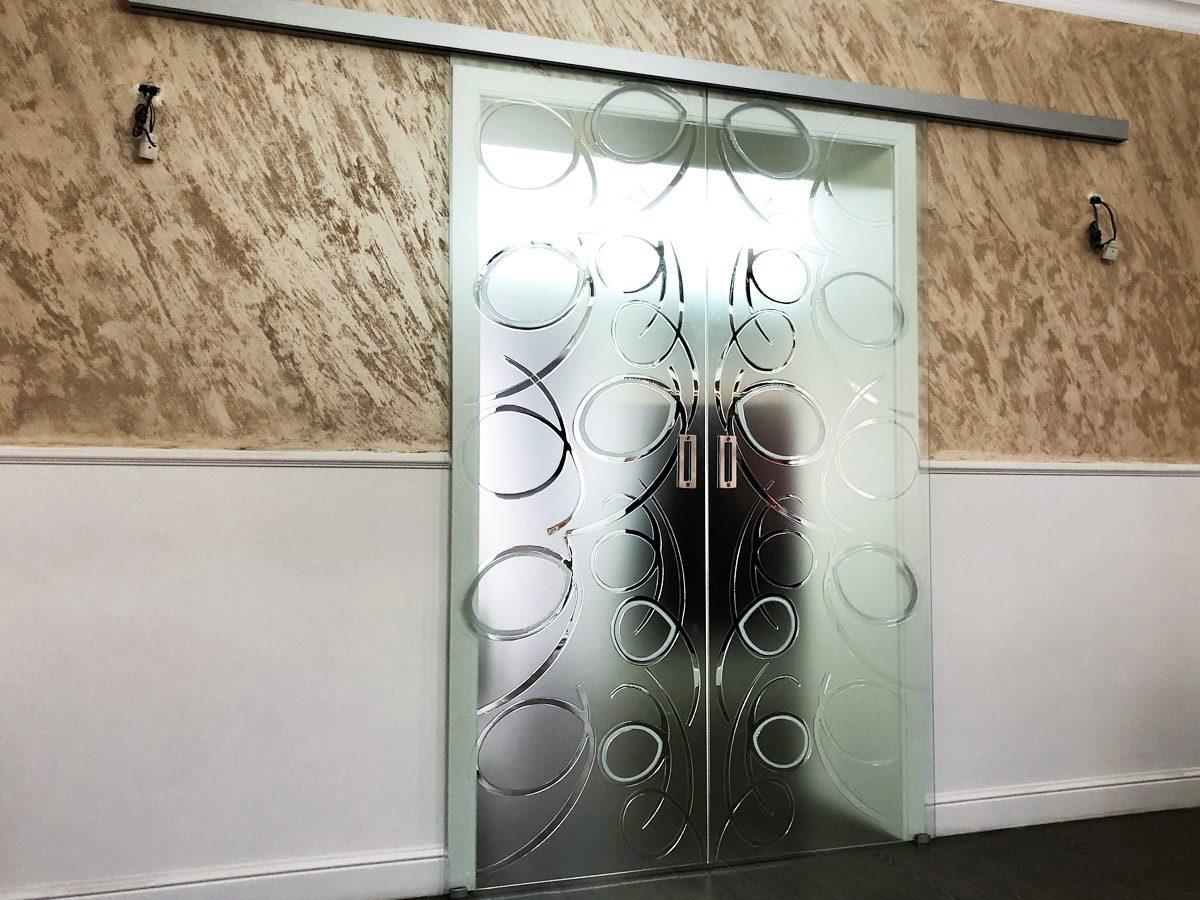 Porta scorrevole vetro Crotone - Calabria