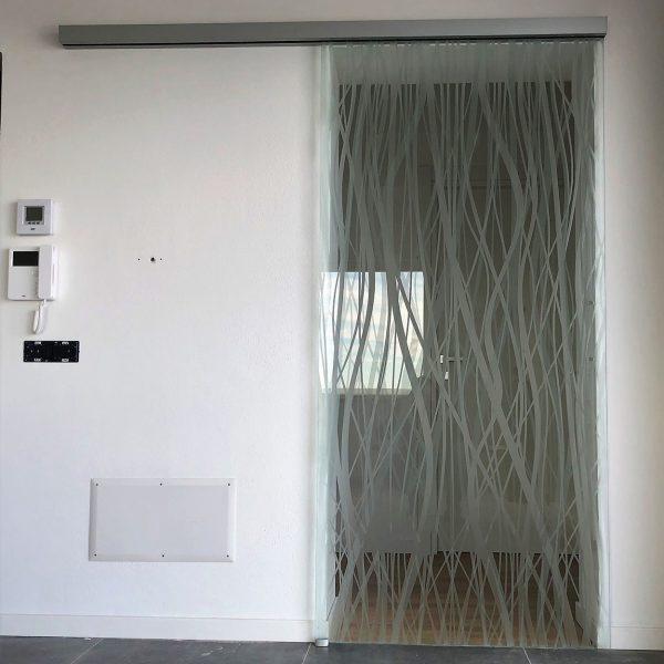 Porte vetro scorrevoli muro Crotone - Calabria