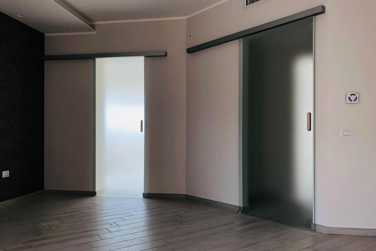 Porte scorrevoli vetro Crotone - Calabria