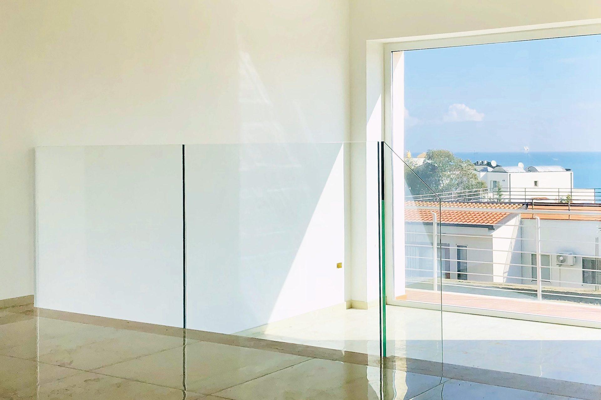 Balaustre in vetro